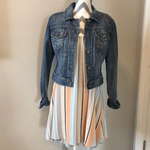NWOT Anthropologie Stripped Dress Size XS